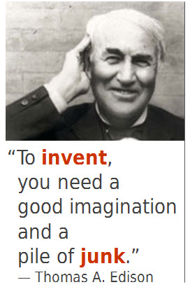 Edison quote with picture