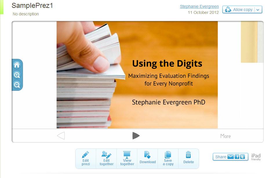 A Review of Presentation Platforms