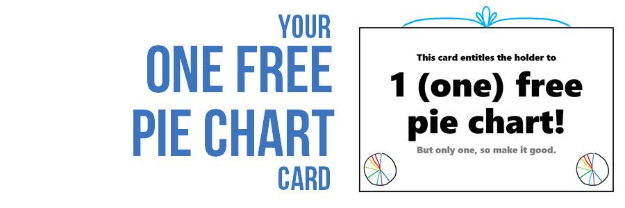 one free pie chart evergreen data
