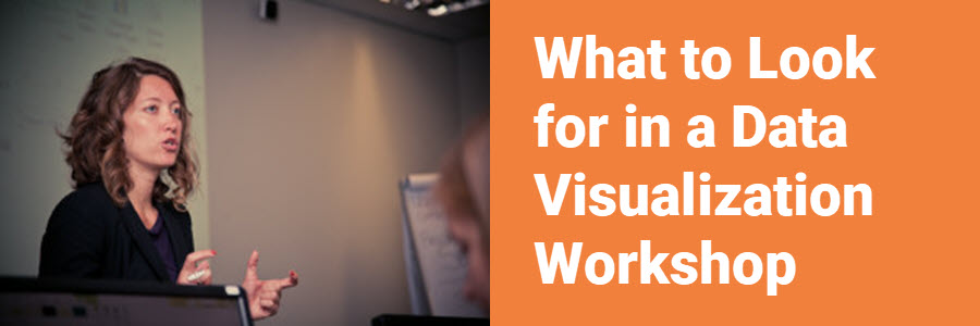 What to Look for in a Data Visualization Workshop