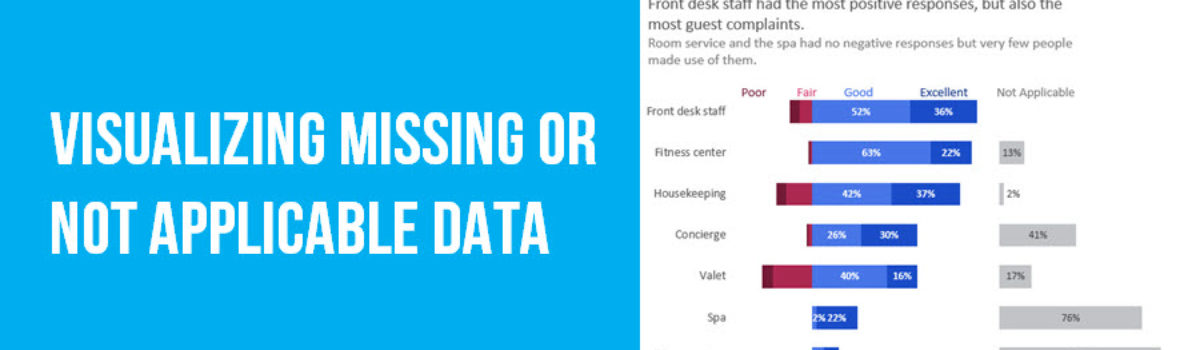 Visualizing Not Applicable or Missing Data