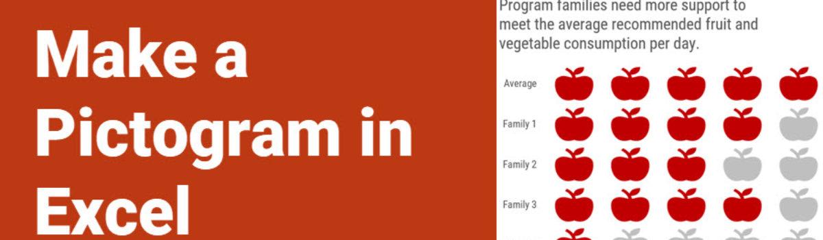 Make a Pictogram in Excel