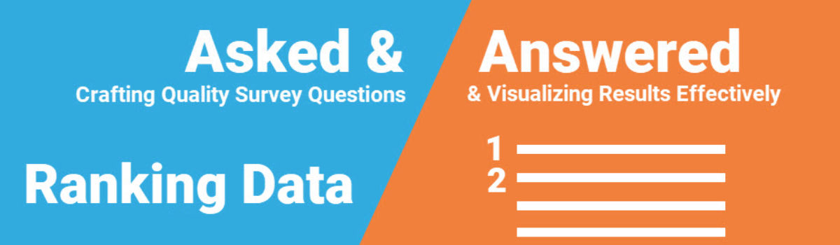 Asked and Answered: Visualizing Ranking Data
