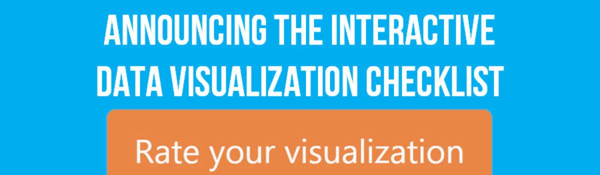 Announcing The Interactive Data Visualization Checklist