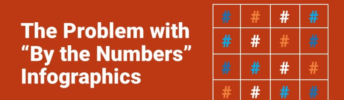 """The Problem with """"By the Numbers"""" Infographics"""