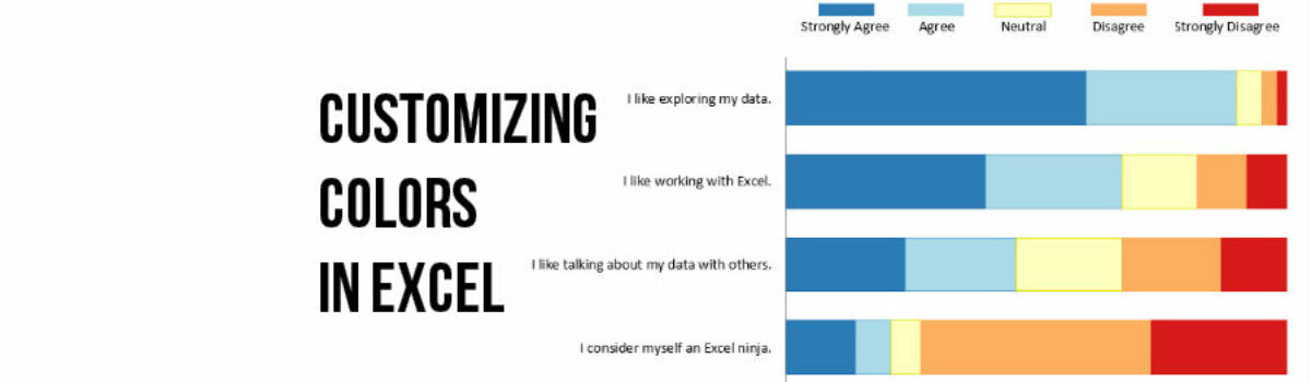 Customizing Colors in Excel